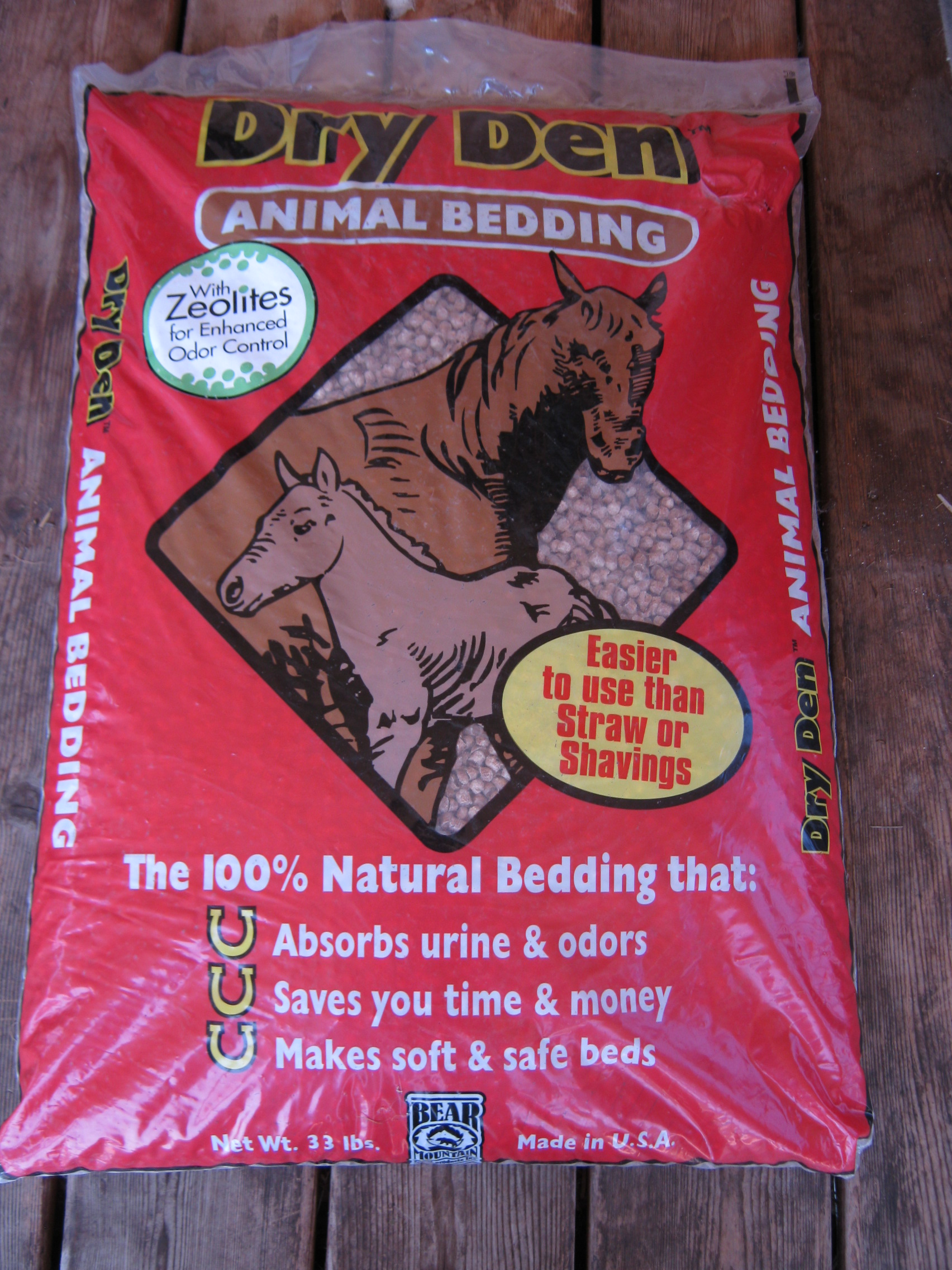 Dry Den Natural Animal Bedding